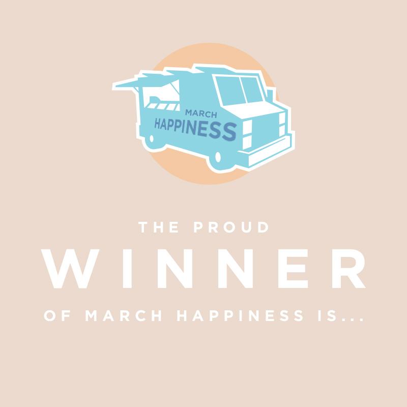 March Happiness Bracket Winner