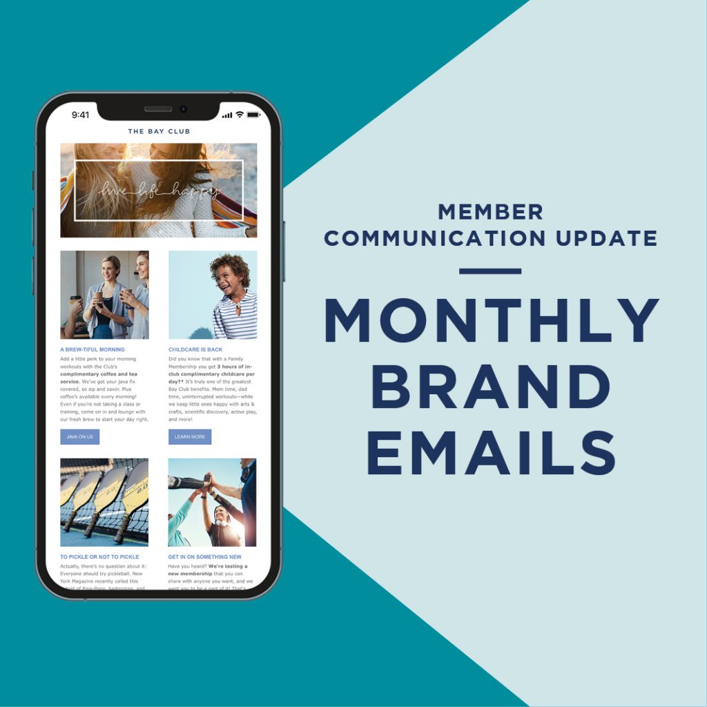 Monthly Brand Emails