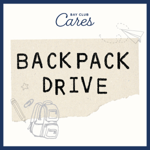 Bay Club Cares Backpack Drive Update